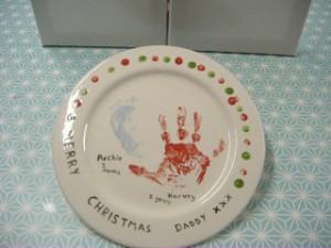 christmasplate
